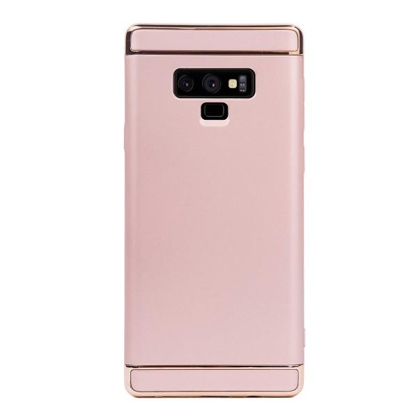 Луксозен кейс/калъф от 3 части за Samsung Galaxy Note 9, Case, Твърд, Златист