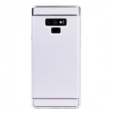 Луксозен кейс/калъф от 3 части за Samsung Galaxy Note 9, Case, Твърд, Сребрист