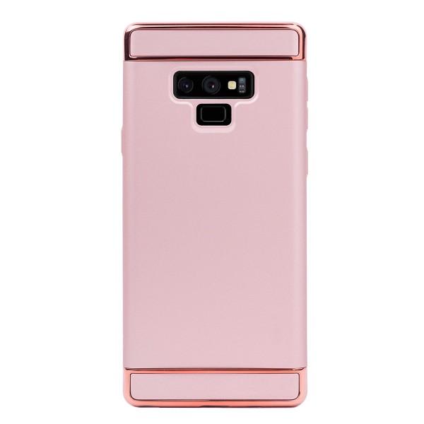 Луксозен кейс/калъф от 3 части за Samsung Galaxy Note 9, Case, Твърд, Розово злато