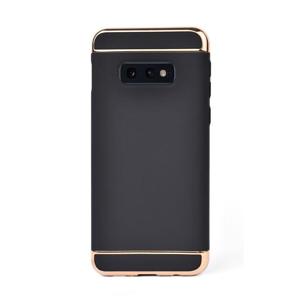Луксозен кейс/калъф от 3 части за Samsung Galaxy S10e/ S10 Lite, Case, Твърд, Черен