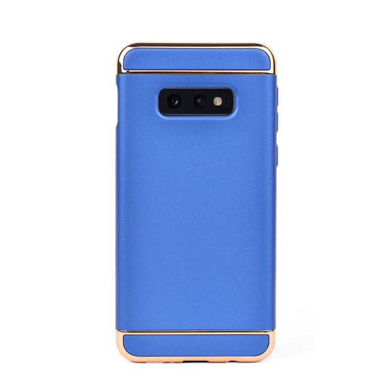 Луксозен кейс/калъф от 3 части за Samsung Galaxy S10e/ S10 Lite, Case, Твърд, Син
