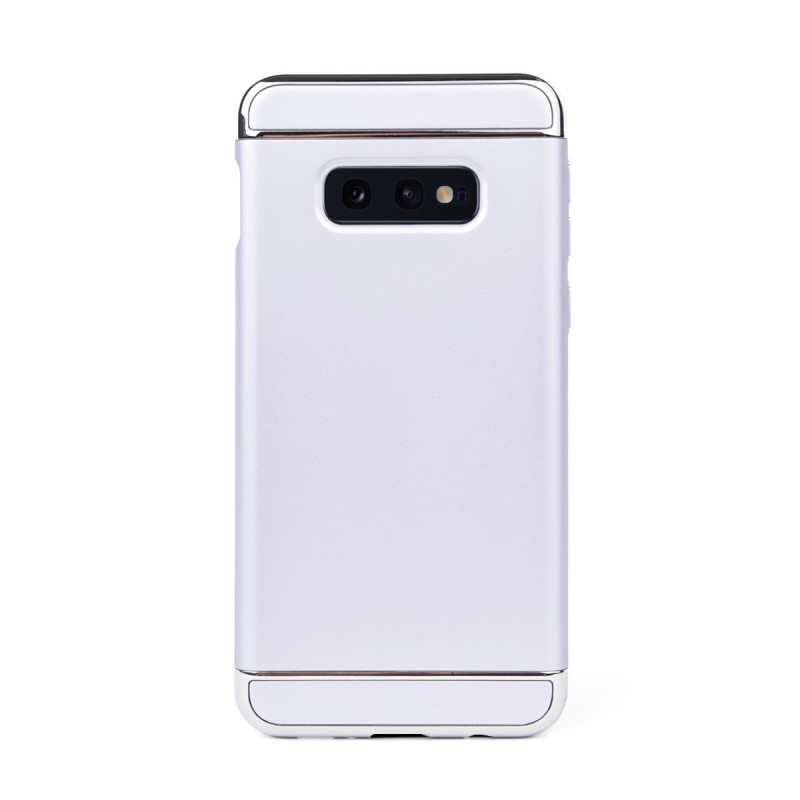 Луксозен кейс/калъф от 3 части за Samsung Galaxy S10e/ S10 Lite, Case, Твърд, Сребрист