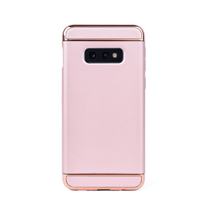 Луксозен кейс/калъф от 3 части за Samsung Galaxy S10e/ S10 Lite, Case, Твърд, Розово злато