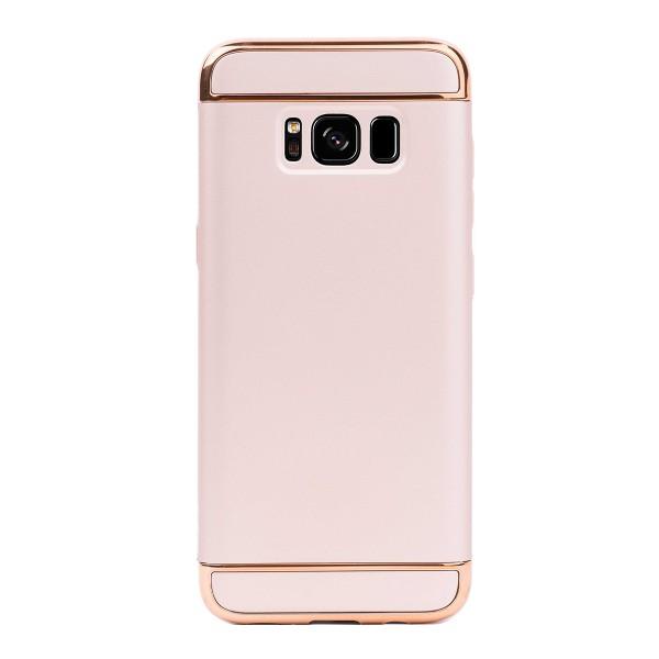 Луксозен кейс/калъф от 3 части за Samsung Galaxy S8 Plus, Case, Твърд, Златист