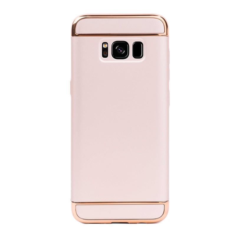 Луксозен кейс/калъф от 3 части за Samsung Galaxy S8, Case, Твърд, Златист