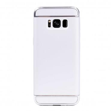 Луксозен кейс/калъф от 3 части за Samsung Galaxy S8 Plus, Case, Твърд, Сребрист