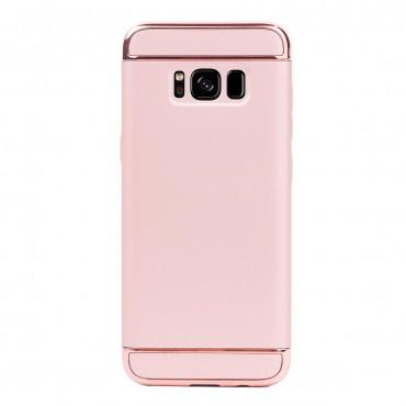 Луксозен кейс/калъф от 3 части за Samsung Galaxy S8 Plus, Case, Твърд, Розово злато