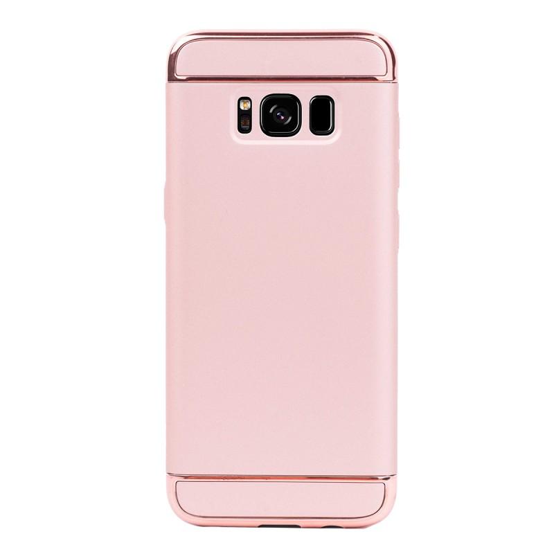 Луксозен кейс/калъф от 3 части за Samsung Galaxy S8, Case, Твърд, Розово злато