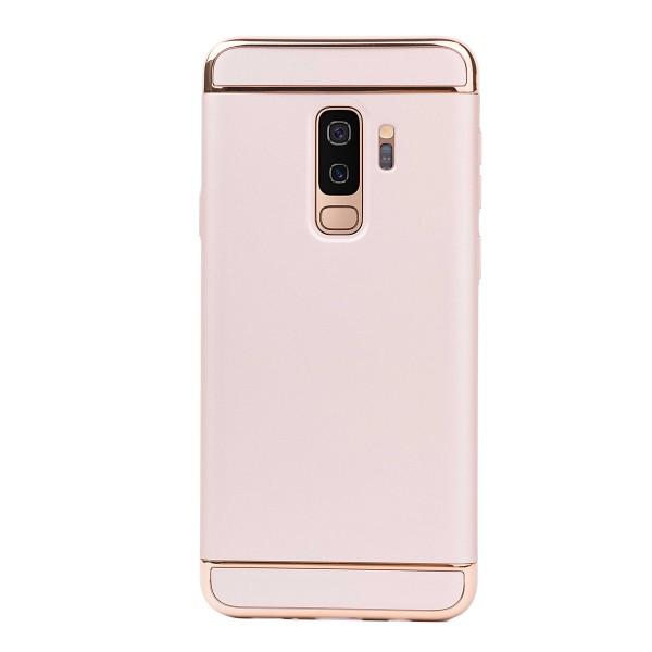 Луксозен кейс/калъф от 3 части за Samsung Galaxy S9 Plus, Case, Твърд, Златист