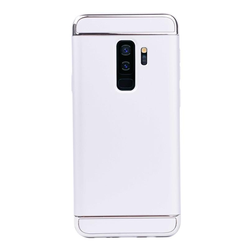 Луксозен кейс/калъф от 3 части за Samsung Galaxy S9 Plus, Case, Твърд, Сребрист