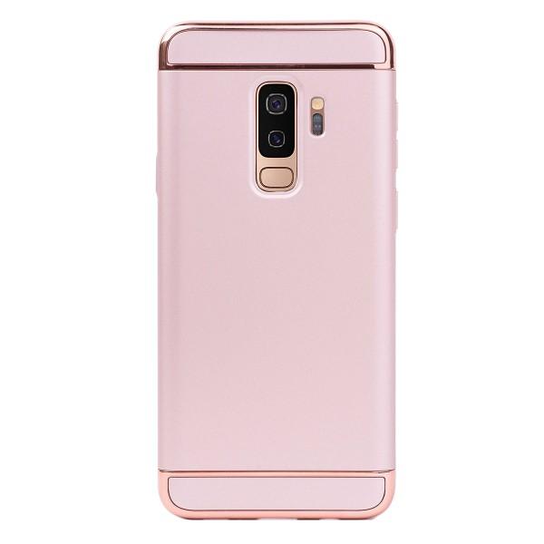 Луксозен кейс/калъф от 3 части за Samsung Galaxy S9 Plus, Case, Твърд, Розово злато