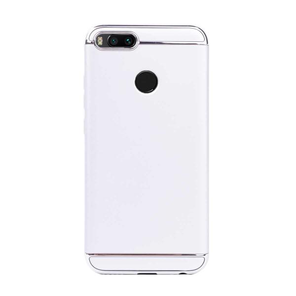 Луксозен кейс/калъф от 3 части за Xiaomi Mi A1, Case, Твърд, Сребрист