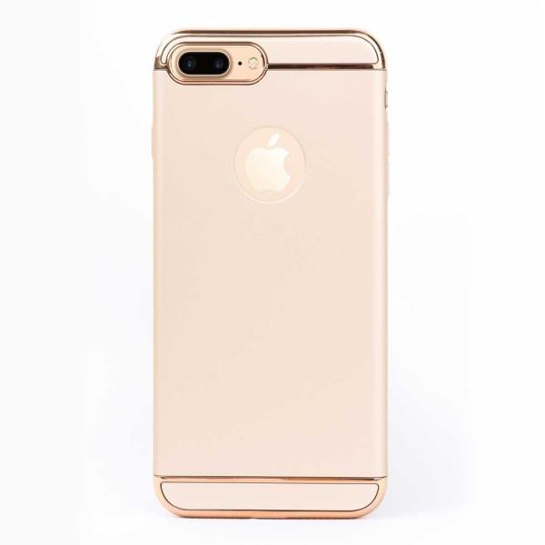 Луксозен кейс/калъф от 3 части за iPhone 8 Plus, Case, Твърд, Златист