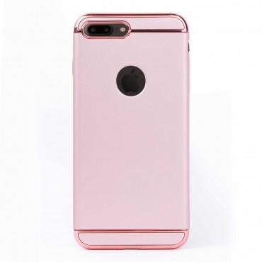 Луксозен кейс/калъф от 3 части за iPhone 7 Plus, Case, Твърд, Розово злато