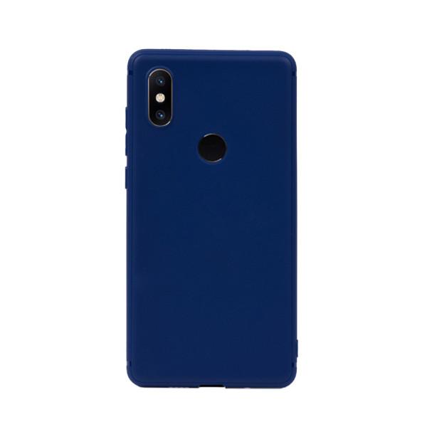 Цветен силиконов кейс/гръб за Xiaomi Mi Mix 2S, Мек, Син