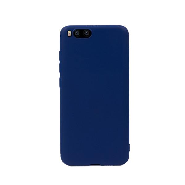 Цветен силиконов кейс/гръб за Xiaomi Mi 6, Мек, Син