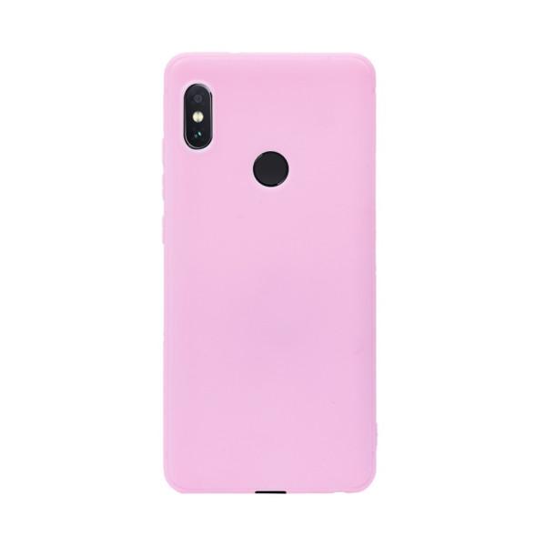 Цветен силиконов кейс/гръб за Xiaomi Redmi Note 5/Note 5 Pro, Мек, Розов