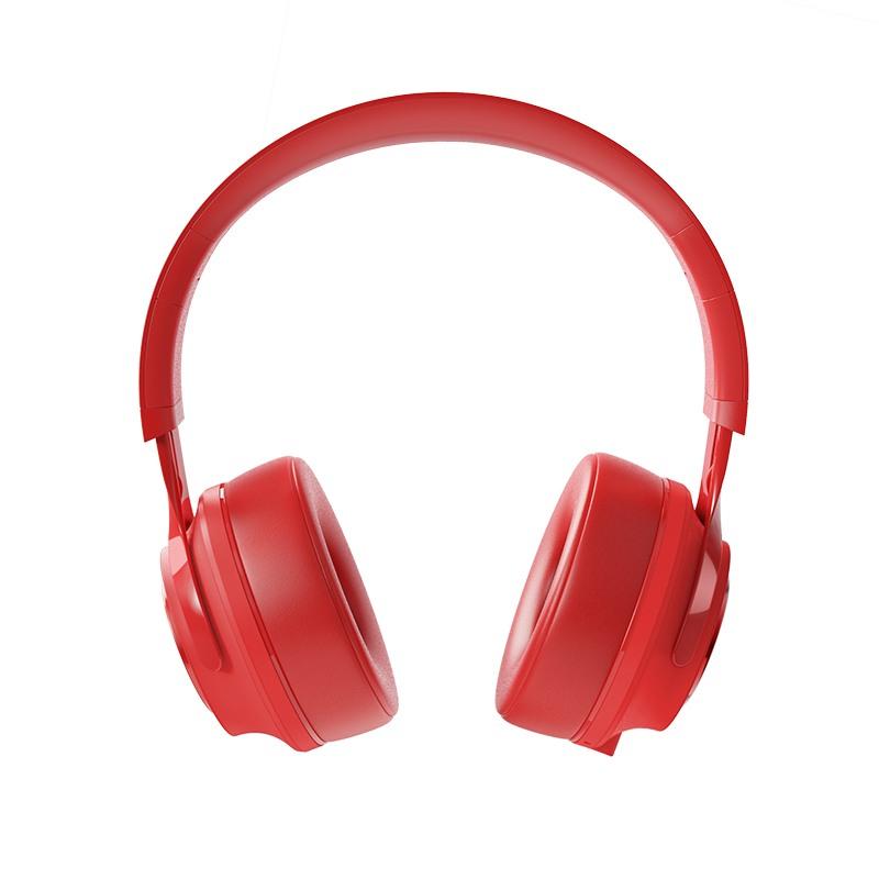 Безжични слушалки Hoco W22 Talent Sound с Bluetooth V4.2, Сгъваеми, Разтегателни, Червени