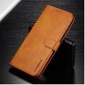 Луксозен кожен флип калъф/тип тефтер за Samsung Galaxy A70, LC.IMEEKE, Светлокафяв