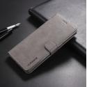 Луксозен кожен флип калъф/тип тефтер за Samsung Galaxy Note 8, LC.IMEEKE, Сив