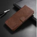 Луксозен кожен флип калъф/тип тефтер за Samsung Galaxy Note 8, LC.IMEEKE, Тъмнокафяв