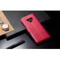 Луксозен кожен флип калъф/тип тефтер за Samsung Galaxy Note 9, LC.IMEEKE, Розов