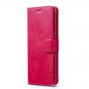 Луксозен кожен флип калъф/тип тефтер за Samsung Galaxy S8, LC.IMEEKE, Розов