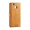 Луксозен кожен флип калъф/тип тефтер за Xiaomi Redmi 4X, LC.IMEEKE, Светлокафяв