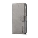 Луксозен кожен флип калъф/тип тефтер за Xiaomi Redmi 4, LC.IMEEKE, Сив