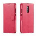 Луксозен кожен флип калъф/тип тефтер за Xiaomi Redmi 5, LC.IMEEKE, Розов