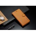 Луксозен кожен флип калъф/тип тефтер за Xiaomi Redmi 5A, LC.IMEEKE, Светлокафяв
