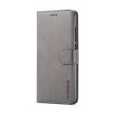 Луксозен кожен флип калъф/тип тефтер за Xiaomi Redmi 5, LC.IMEEKE, Сив