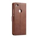 Луксозен кожен флип калъф/тип тефтер за Xiaomi Redmi Note 5A, LC.IMEEKE, Тъмнокафяв