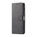 Луксозен кожен флип калъф/тип тефтер за Samsung Galaxy S10, LC.IMEEKE, Черен