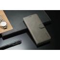 Луксозен кожен флип калъф/тип тефтер за Huawei Mate 20 Pro, LC.IMEEKE, Сив