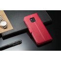 Луксозен кожен флип калъф/тип тефтер за Huawei Mate 20 Pro, LC.IMEEKE, Розов