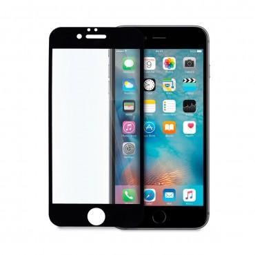 5D стъклен протектор за цял дисплей за iPhone 6, Hicute, Цяло лепило, Черен
