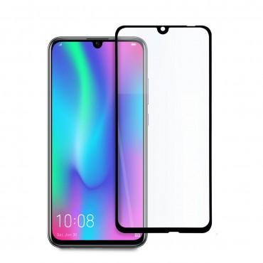 5D стъклен протектор за цял дисплей за Huawei 10 Lite, Hicute, Цяло лепило, Черен