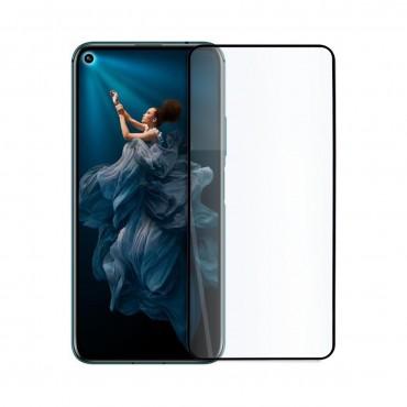 5D стъклен протектор за цял дисплей за Huawei Honor 20 Pro, Hicute, Цяло лепило, Черен