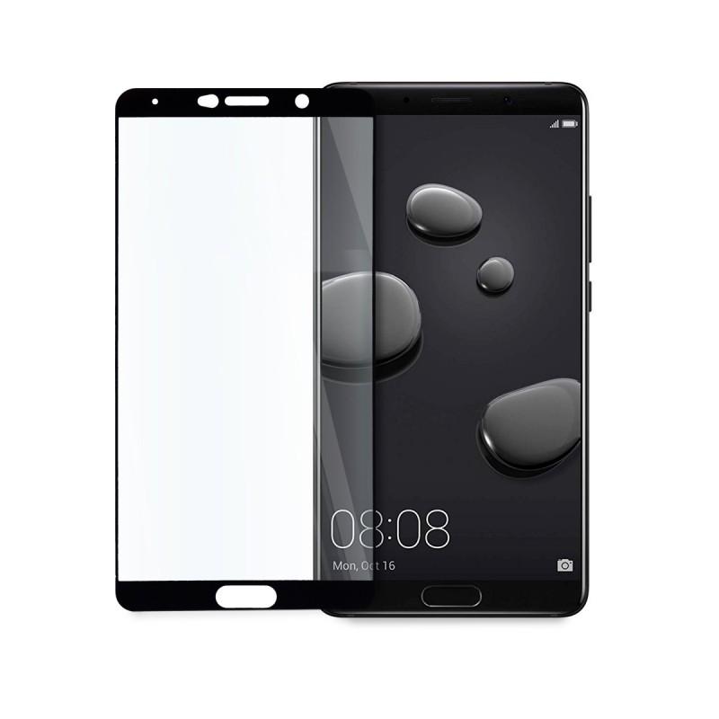 5D стъклен протектор за цял дисплей за Huawei Mate 10, Hicute, Цяло лепило, Черен