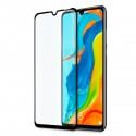5D стъклен протектор за цял дисплей за Huawei P30 Lite, Hicute, Цяло лепило, Черен