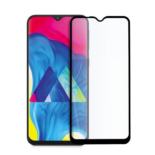 5D стъклен протектор за цял дисплей за Samsung Galaxy M10 (2019), Hicute, Цяло лепило, Черен