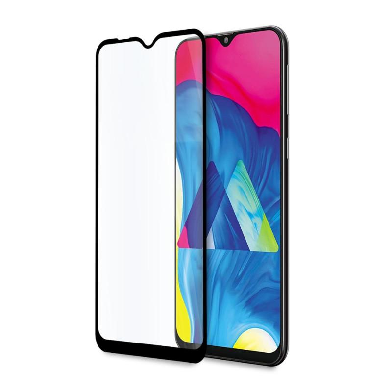 9D цялостен стъклен протектор за Samsung Galaxy M10s, Hicute, Цяло Лепило, Черен