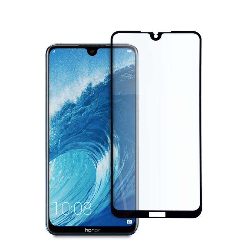 9D цялостен стъклен протектор за Huawei Honor 8X Max, Hicute, Цяло лепило, Черен