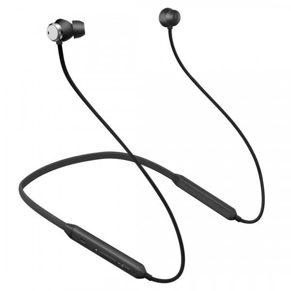 Спортни безжични слушалки Bluedio TN с ANC технология, Bluetooth 4.2, Вграден Микрофон, Черни